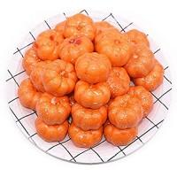 LINMAN 25 Teile/los Mini Künstlicher Schaum Kürbisorange grüne Weihnachten Home Dekorationen Gefälschte Gemüse Frucht Party Decor Foto Requisiten Color : Orange