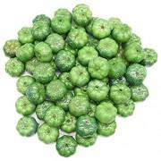 Zzxx Mini-Kürbis künstlich Gemüse Dekoration für Halloween Halloween Grün 25 Stück