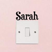 Sarah Fashion Home Room Decor Lichtschalter-Aufkleber Wandaufkleber Heimdekoration